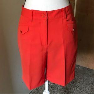 NWOT EP Pro Orange Shorts Size 4